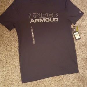 Black Men's Under Armor T-Shirt - Small